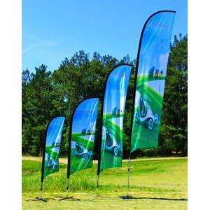 "9' ""Blade"" Wing Feather Single Sided Flag Only"