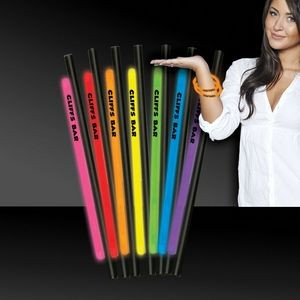"9"" Variety Pack Deluxe Glow Straw AND Bracelet"