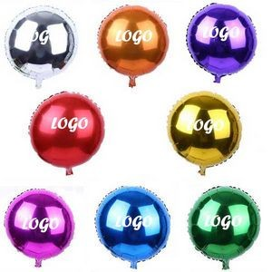 18�� Round Shape Mylar Balloon