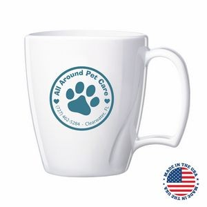 14 Oz. Arrondi™ Plastic Mug - Made in the USA