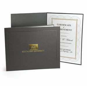 "Certificate Holder - Deckled Edge 8.5"" x 11"""