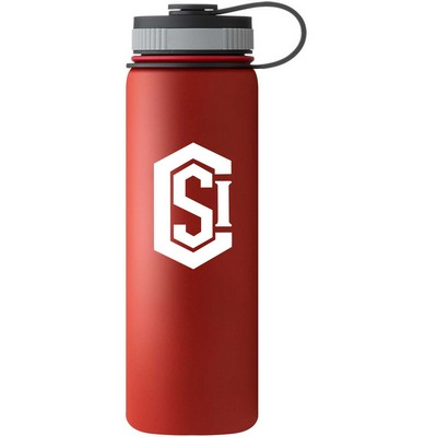 40 oz. Matted 24 HOURS Insulated Stainless Steel Bottle
