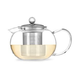 Candace Glass Teapot & Infuser by Pinky Up